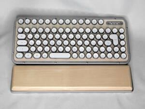 AZIO R.C.K. レトロクラシック・ワイヤレス/USBキーボード メープル(中古)