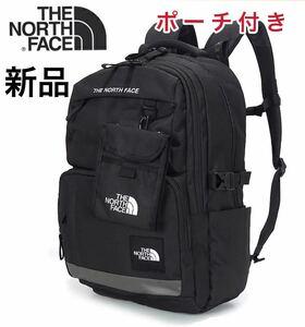 新品 ノースフェイス リュック バックパック 男女兼用 ポーチ・エコバッグ付き 大容量 THE NORTH FACE