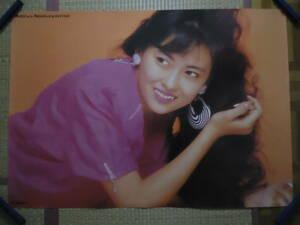 330◆◆中山美穂 アルバム Mind Game キングレコード 1988年 告知ポスター 非売品 840mm×595mm 当時もの レア品