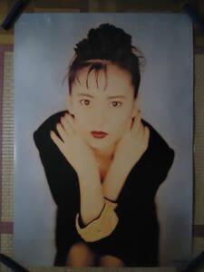 328◆◆中山美穂 アルバム エンジェル・ハート キングレコード 1988年 告知ポスター 非売品 840mm×595mm 当時もの レア品