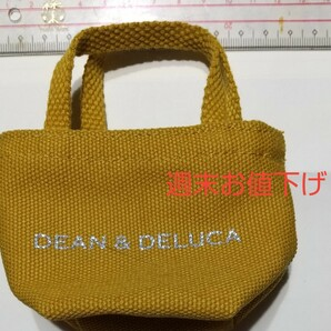 DEVON& DEAN&DELUCA ミニトートバッグカーキ色