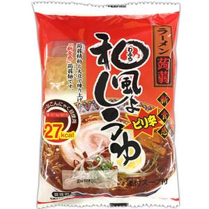 こんにゃく ラーメン ピリ辛 和風醤油味 12食 ナカキ食品 蒟蒻麺