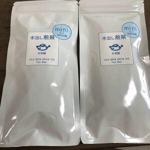 【未開封】水出し煎茶ティーバック 2袋