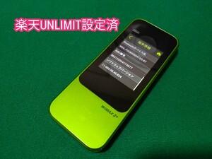 【楽天UN-LIMIT設定済】Speed Wi-Fi NEXT W04 AU版