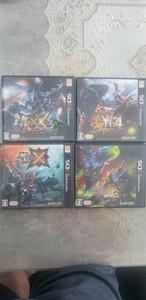 任天堂3DSLL ソフト MH4本