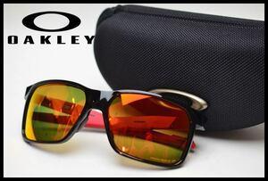 美品 OAKLEY PRIZM P 偏光サングラス PORTAL X OO9460-0559 ポリッシュドブラック /プリズムルビーポラライズド