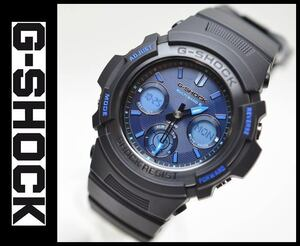 新品未使用 CASIO 腕時計 G-SHOCK ファイアーパッケージ '21 電波ソーラー FIRE PACKAGE '21 AWG-M100SF-1A2JR メンズ ブラック Gショック