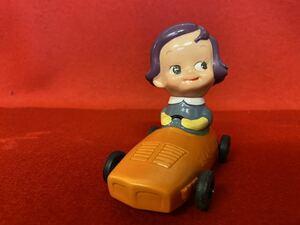 当時物 のばらチャン かんぎん メイト号 ソフビ人形 貯金箱