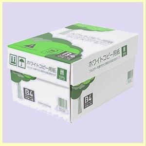 ☆★タイムセール★☆ 高白色 APP E-KI 紙厚0.09mm 2500枚(500枚×5冊) ホワイトコピ-用紙 B4 白色度93%