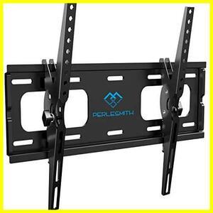 耐荷重60kg 26-55インチ対応 LCD LED テレビ壁掛け金具 HY-865 液晶テレビ用 ティルト±10度 PERLESMITH VESA400x400mm (ブラック)