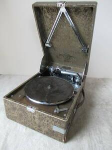 Columbia コロムビア 卓上 蓄音機 No.214 viva-tonal Grafonola サウンドボックス No.15 レトロ アンティーク ヴィンテージ 音出確認