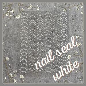 nail No.096 ネイルシール (白)