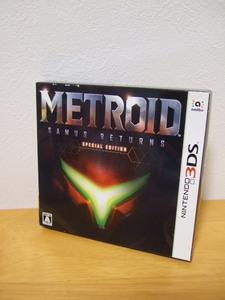 新品 送料無料 3DS メトロイド サムスリターンズ スペシャルエディション SAMUS RETURNS SPECIAL EDITION Nintendo ニンテンドー 任天堂