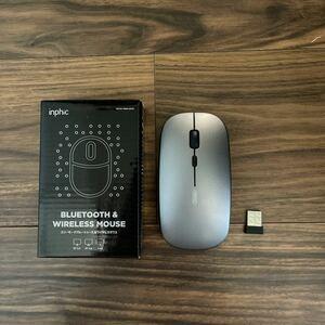 ワイヤレスマウス USB Bluetooth 薄型 無線マウス