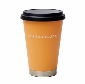 新品★DEAN & DELUCA 2021 季節限定 サーモタンブラー ★アプリコットオレンジ ステンレス カフェ店舗限定