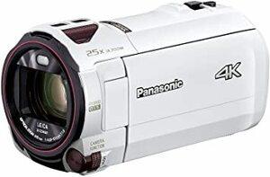 ピュアホワイト パナソニック 4K ビデオカメラ VX992M 64GB 光学20倍ズーム ピュアホワイト HC-VX992M-