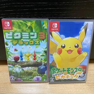 【Switch】 ポケットモンスター Let s Go! ピカチュウ ピクミン3 デラックス セット