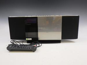 h1J082Z1 m Panasonic パナソニック コンパクトステレオシステム ブラック SC-HC30 2010年製 リモコン付