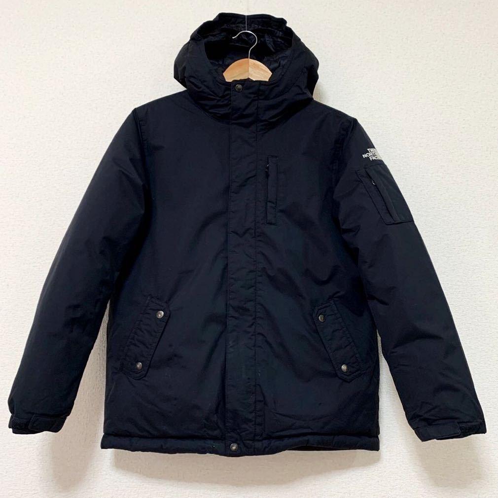 ノースフェイス ダウンジャケット キッズ150サイズ 本物 正規品 ブラック 黒 ハイベント マクマード コート ヌプシ バルトロ m0144
