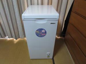 未使用 冷凍庫 アビテラックス ACF-603C 2018年製 60L 上開き 冷凍ストッカー フリーザー Abitelax 直冷タイプ 急速冷凍機能 キャスター付
