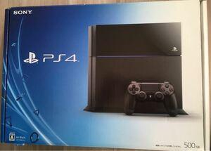 【最終値下げ】PlayStation4 ジェット ブラック 500GB CUH-1000A
