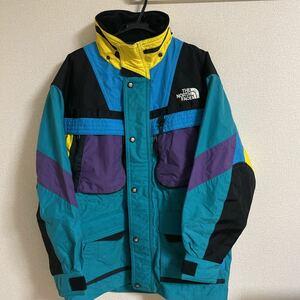 ビンテージ 90sノースフェイスTHE NORTH FACE ski wear ナイロンジャケット スキーウェア L