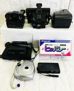 ポラロイド カメラ まとめ セット AutFocus 5000 FOTORAMA880 instax mini 20 動作未確認 E-21100150