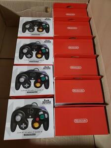 新品 Nintendo Switch ゲームキューブ コントローラ スマブラブラック 10個セット 純正品 GCコン ニンテンドー