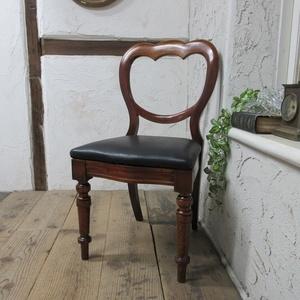 イギリス アンティーク 家具 ダイニングチェア バルーンバック 椅子 イス 木製 マホガニー 英国 DININGCHAIR 4400d 新入荷