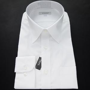 新品 ダーバン 形態安定 ブロード ドレスシャツ 41-84 白 【I58729】 D'URBAN ビジネス レギュラーカラー コットン メンズ