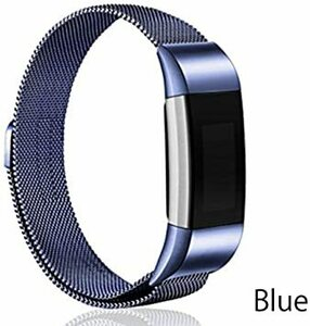 Blue fitbit charge2 Fitbit Charge 2 ベルト バンド ステンレス (fitbit charge