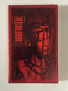 輸入盤カセット・LIVING COLOUR・リヴィング・カラー「STAIN」!!
