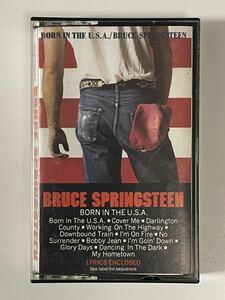 輸入盤カセット・BRUCE SPRINGSTEEN「BORN IN THE U.S.A.」ブルース・スプリングスティーン!!