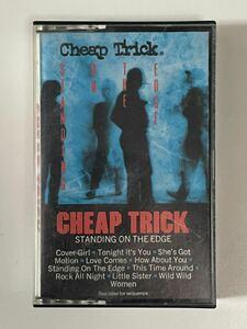 輸入盤カセット・CHEAP TRICK・チープ・トリック「STANDING ON THE EDGE」スタンディング・オン・ジ・エッジ!!
