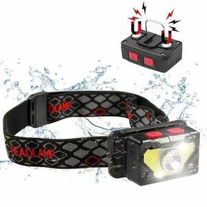 ヘッドライト LEDヘッドランプ 充電式 ヘッドランプ LEDヘッドライト 小型軽量 充電式ヘッドライト USB レッドレンザー