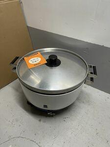 Paloma パロマ 圧電式 業務用 厨房 ガス炊飯器 PR-8号CK  LPガス 8L 4升炊き 給食用 動作未確認現状