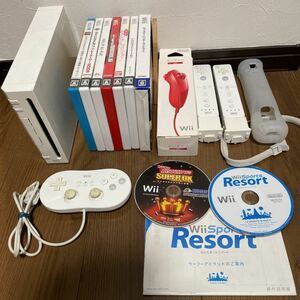 任天堂Wii本体、付属品、ソフトセット