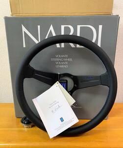 NARDI N906 2018年限定 ブルーロゴ ブルーステッチ ディープコーン ナルディ