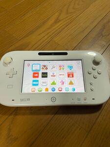 Nintendo Wii Uゲームパッド シロ gamepad