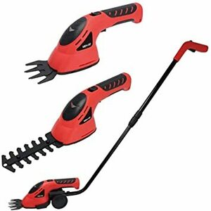 macros(マクロス) 芝刈り機 草刈り機 電動 充電式 コードレス バリカン ヘッジトリマー カッター 芝刈機 草刈機 芝生