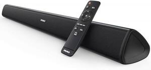 【即決】TVサウンドバー・スピーカー 2.0ch 60W 大音量 高音質 Bluetooth4.2 AUX/OPT ワイヤレス対応 リモコン付 (税込・送料込) 22