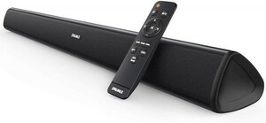 【即決】TVサウンドバー・スピーカー 2.0ch 60W 大音量 高音質 Bluetooth4.2 AUX/OPT ワイヤレス対応 リモコン付 (税込・送料込) 12