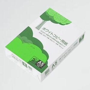 新品 好評 高白色 APP Z-QL 紙厚0.09mm 500枚 ホワイトコピ-用紙 A5 白色度93%
