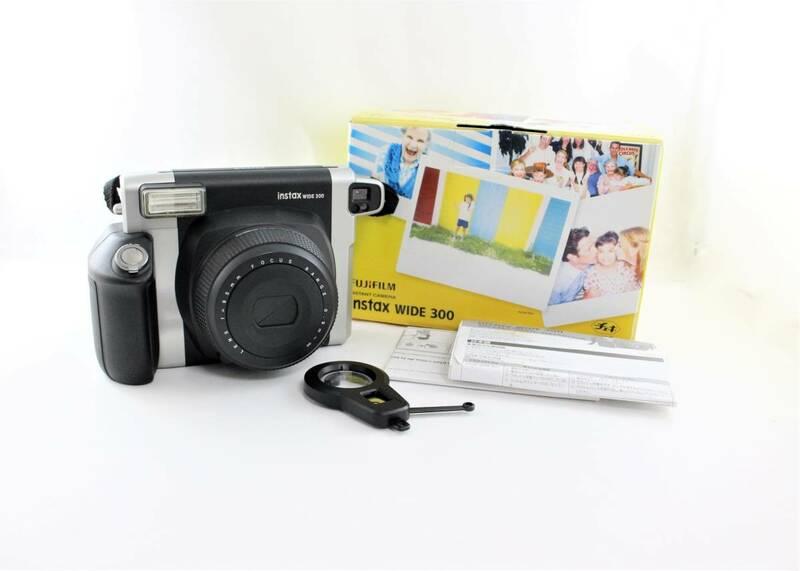 FUJIFILM 富士フィルム INSTAX WIDE 300 インタックス ワイド インスタントカメラ チェキ