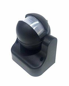 CPGS 黒 CPGS 赤外線 自動 PIR モーションセンサー スイッチ 人感センサー 日本語説明書付 (黒)