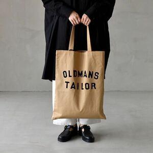 【新品未開封】オールドマンズテーラー R&D.M.Co- OLDMANS TAILOR プリントトートバッグ ベージュ