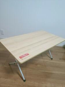 スノーピーク テーブル 竹 バンブー LV-100T 廃番品 収納ケース付