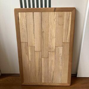 テーブルの天板 オーク材 アウトドアテーブル 手作り