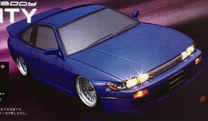 ABCホビー シルエイティー ボディー 新品 S13 RS13 シルビア 180SX 旧車 ドリフト 街道レーサー 走り屋 ドリ車