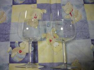 美品。ビレロイ&ボッホ 『ワイングラス』2個組。Villeroy&Boch